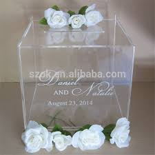 wedding gift card box beautiful clear acrylic wedding card box buy acrylic