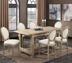 bradford dining room furniture interlude sandstone gathering height dining room set d560 13 d560