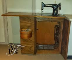 Singer Sewing Machine With Cabinet by Obsessive Creativeness 1953 Model 201k Singer Treadle Sewing Machine