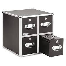 Black Dvd Cabinet Vaultz 4 Drawer Cd File Cabinet Holds 660 Folders Or 240 Slim 120