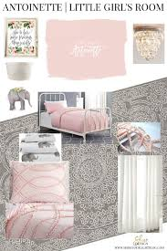 Bedroom Design Boards Antoinette Pink In A Little U0027s Room Shine Your Light