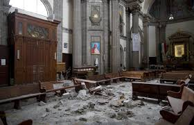 Country Cupola Furniture Mexico Quake Leaves Country U0027s Historic Churches Battered