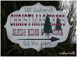 tree farm sign home decor for the holidays