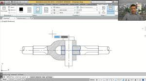 knuckle joint autocad tutorial youtube
