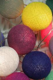 String Ball Lights by 40 Best Cotton Ball String Lights Images On Pinterest String
