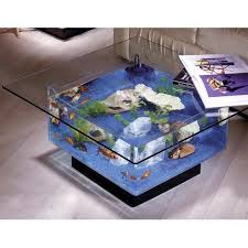 Aquarium Coffee Table Aqua Square Coffee Table 25 Gallon Aquarium Walmart