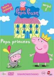 peppa pig peppa princess dvd dvd zone shop