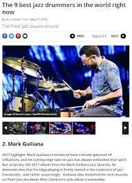 guiliana s rhythm magazine music radar best in drums mark guiliana