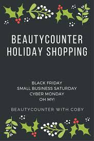 black friday and small business saturday and cyber monday oh my