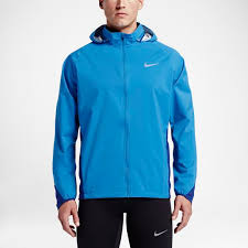 Light Blue Jacket Mens Nike Mens Clothing Nike Shield Light Photo Blue Deep Royal Blue