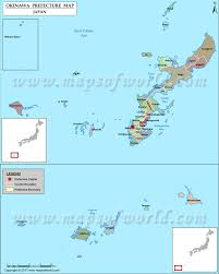 Sea Of Japan Map Okinawa Prefecture Map Map Of Okinawa Prefecture Japan