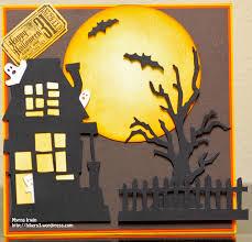halloween dies tim holtz dies halloween card for drew myrna u0027s obsessions