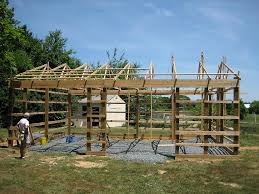 How To Build A Pole Barn Shed Roof by Steel Building Kits Steel Garage Kits Steel Barn Kits Pa U0026 Nj