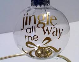 jingle bell ornament etsy