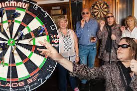 Little Richard Blind Blind Darts Team Play Their First Match Mirror Online