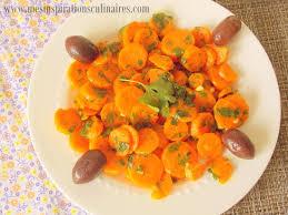 cuisiner des carottes en rondelles salade de carottes à la marocaine le cuisine de samar
