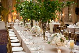has anyone made centerpieces with tree branches leafy