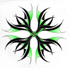 tribal color from itattooz