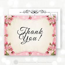 best 25 thank you postcards ideas on wedding thank