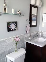 wall color is sherwin williams north star small bathrooms