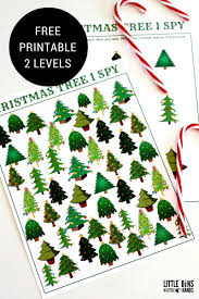 i spy christmas tree counting math activity for kids counting