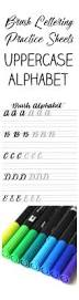 free cursive writing paper best 25 handwriting practice sheets ideas on pinterest writing free brush lettering uppercase alphabet practice sheets