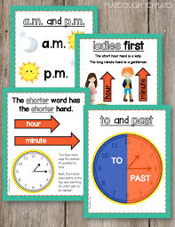 100 telling time to the hour and half hour worksheets first