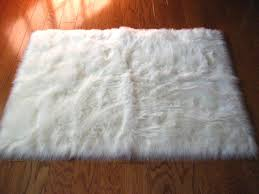 faux fur rug on the hunt