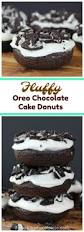 fluffy oreo chocolate cake donuts recipe oreo chocolate cakes