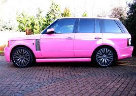 jeep pink matte for sale katie price u0027s range rover celebrity cars blog