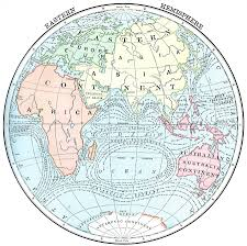 Blank Continents And Oceans Map by 5924 Jpg