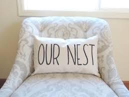 Nest Home Decor Our Nest Home Decor Pillow Our Nest Pillow Cover