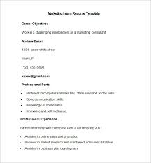 marketing resume template u2013 37 free samples examples format