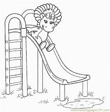 barney 25 coloring free barney coloring pages