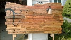headboard from wooden pallets 6 steps with pictures