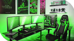 my official 2017 ultimate gaming setup my dream gaming setup