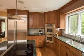 Designer Kitchen And Elegant Custom Cherry Cabinets  Ackley - Rustic cherry kitchen cabinets