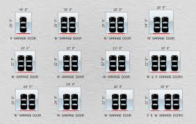 garage dimensions residential garage doors available sizes garaga