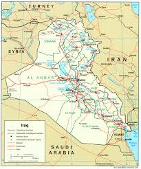 U Of M Map Iraq Maps Perry Castañeda Map Collection Ut Library Online