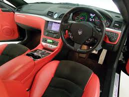 maserati granturismo red interior maserati granturismo mc shift