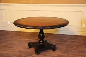 Distressed Black Dining Table 54 Round Blonde Pine Center Table Kitchen Or Dining Table