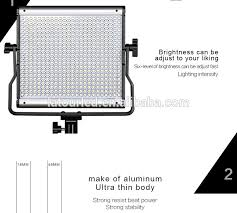 ultra thin led photo studio lights for shooting light kit