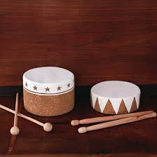 Musical Instruments Crafts For Kids - cork drums musical instrument crafts for kids homemade toys and