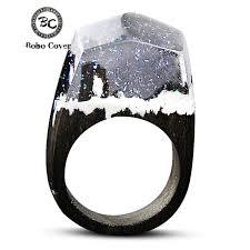 wood rings com images 2017 resin wood rings for women magic forest wooden ring men jpg
