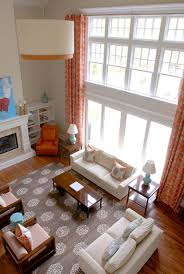 2 story living room two story living room design ideas