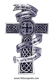 celtic cross tattoos with names 3