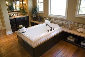 Hardwood Floors In Bathroom 24 Master Bathrooms With Soaking Tubs In The Center