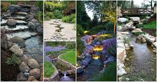 20 outstanding natural garden stream designs that will amaze you
