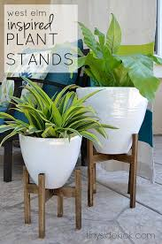best 25 wooden plant stands ideas on diy planter