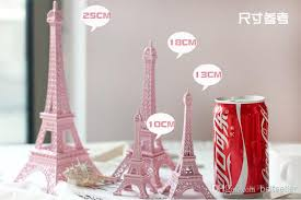 eiffel tower centerpieces wedding centerpieces table centerpiece decor pink 3d
